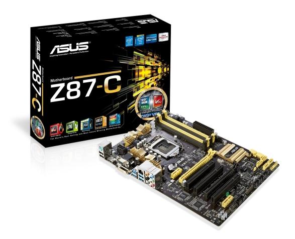 ASUS Z87-C WHQL
