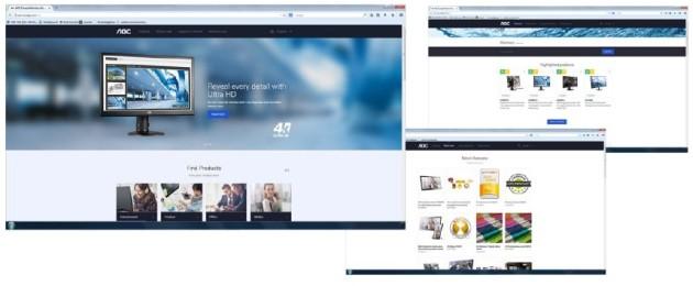 AOC webpage