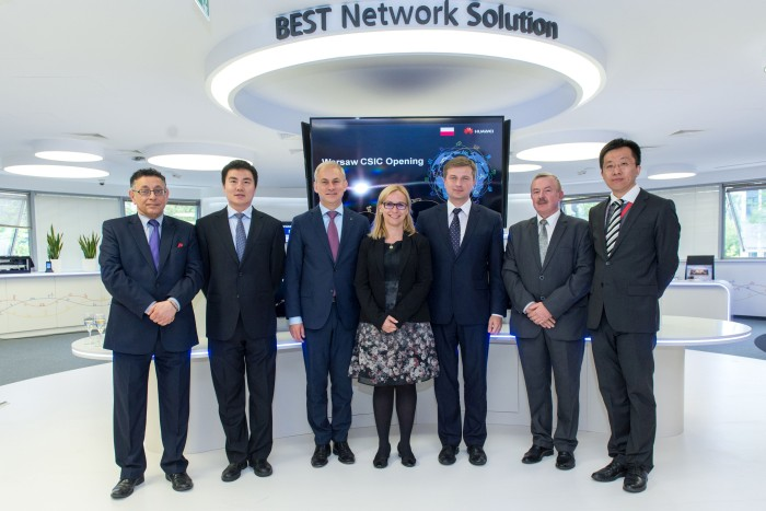 Huawei otwarcie centrum
