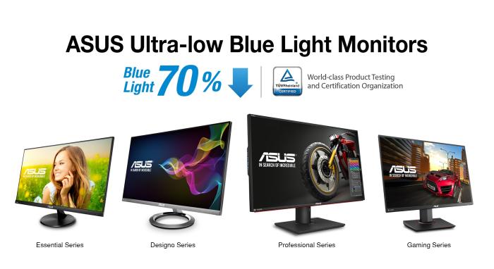 ASUS Ultra-Low Blue Light Monitors
