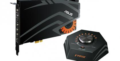 Strix Raid DLX_7.1 PCIe gaming sound card set