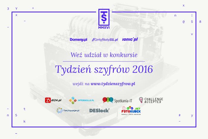 tydzien szyfrow 2016