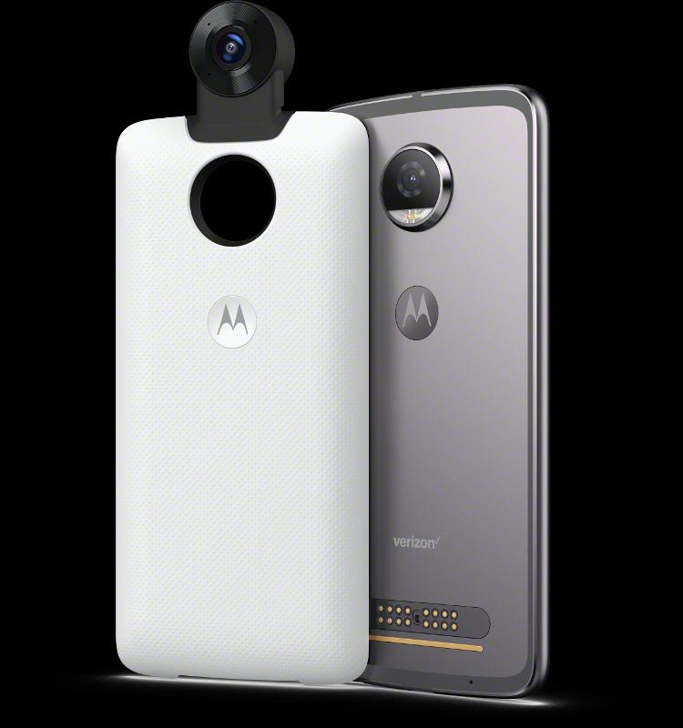 MotoMods 360 Camera MotoZ2Play