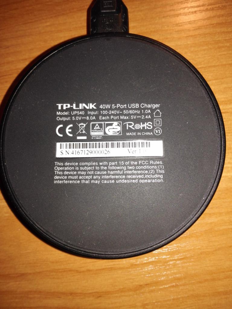 ladowarka USB UP-540 6