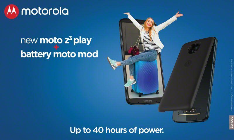 MotoZ3Play - Battery pack