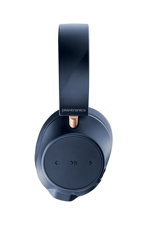 BackBeatGO 800 Navy Side