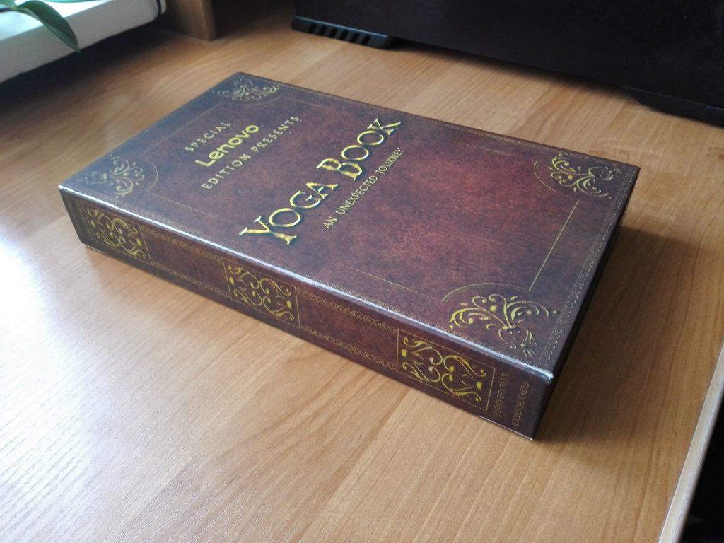 Yoga Book opakowanie
