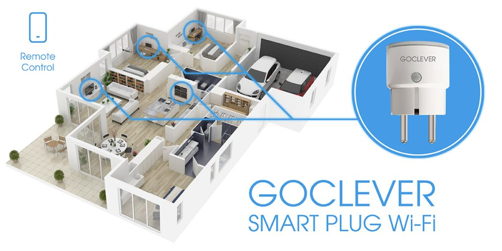 goclever smart plug wi fi bud etowy patent na smart home vortal technologiczny. Black Bedroom Furniture Sets. Home Design Ideas