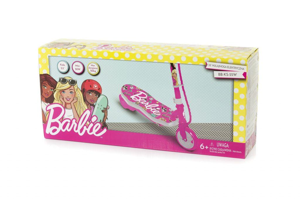 Hulajnoga-Barbie