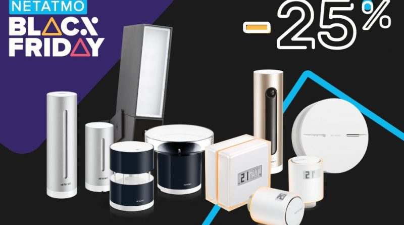 netatmo black friday 2019