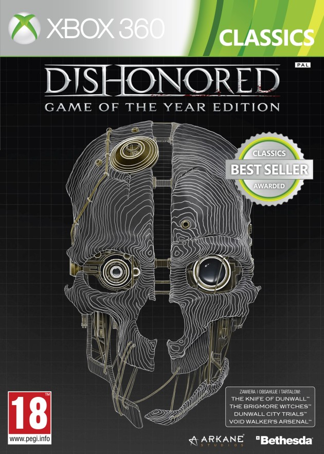 Dishonored Game of the Year