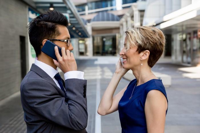 smartfony w firmie