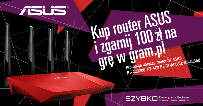 Asus promocja router