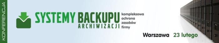 konferencja systemy backupu