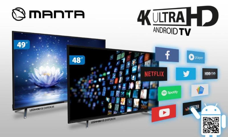 Manta_EMPEROR 4K ANDROID_TV