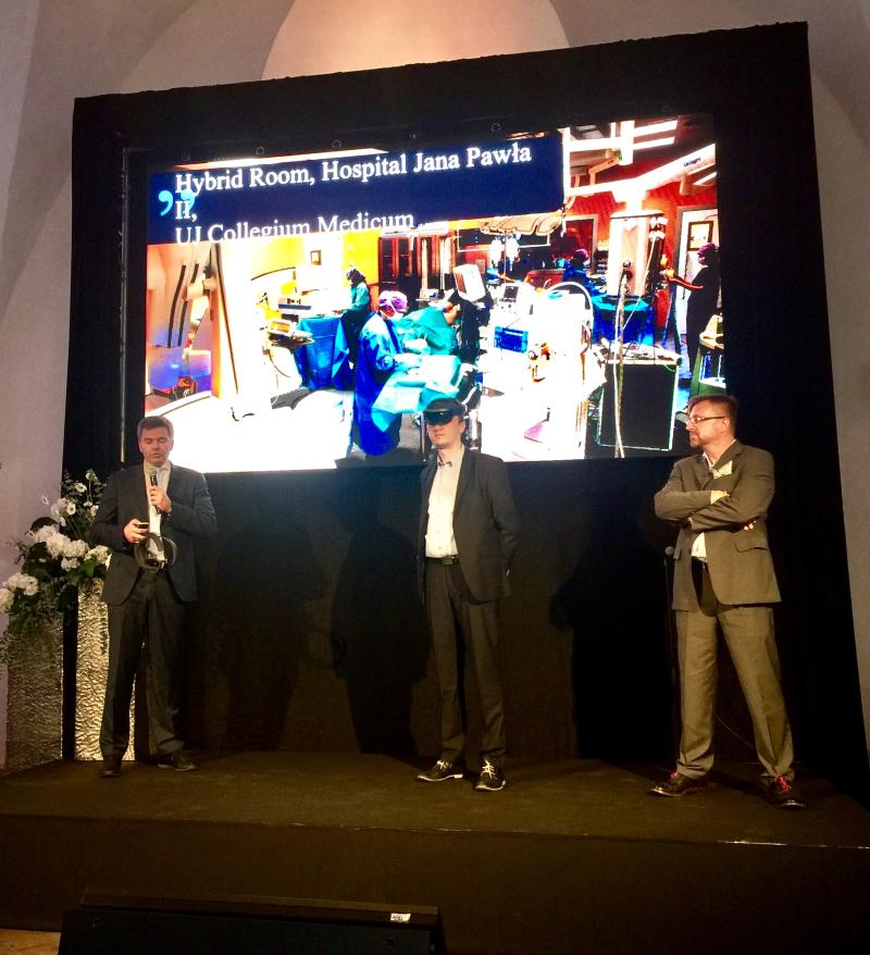 prezentacja HoloLens w Tallinnie
