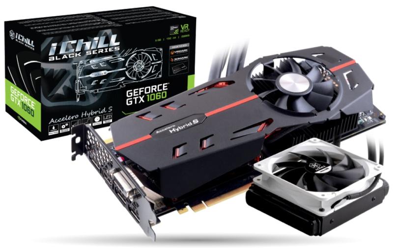 GeForce GTX 1060 Ichill Black