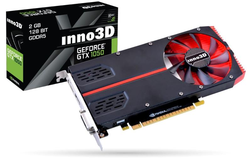 inno3D geforce gtx1050