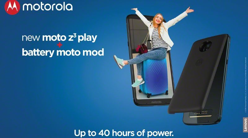 MotoZ3Play - Battery pack