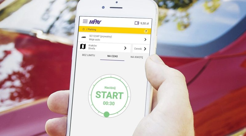Aplikacja mPay w telefonie