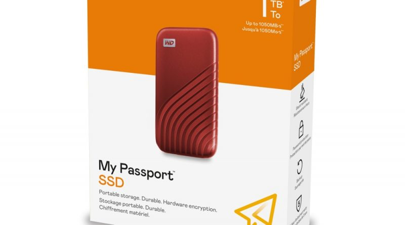 MyPassport SSD