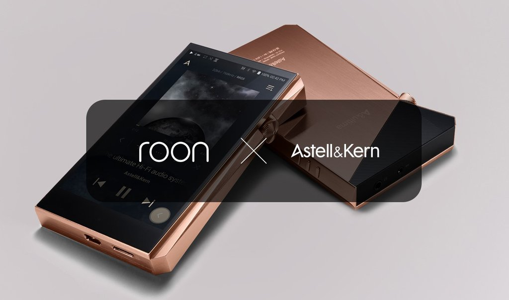 Astell&Kern ready to Roon